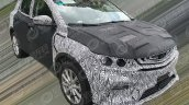 Geely SX11 front three quarters spy shot