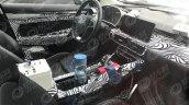 Geely SX11 interior spyshot