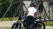 Honda 150 SS racer spied indonesia tvc left side