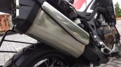 Honda Africa Twin India review exhaust