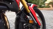 Honda Africa Twin India review front suspension