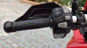 Honda Africa Twin India review handlebar left