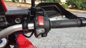 Honda Africa Twin India review handlebar right