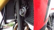 Honda Africa Twin India review radiators