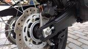 Honda Africa Twin India review rear brake