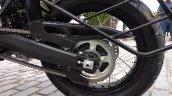 Honda Africa Twin India review rear wheel