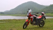 Honda Africa Twin India review side shot