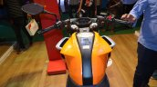 Honda CB 190R at Nepal Auto Show 2017 fuel tank