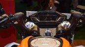 Honda CB 190R at Nepal Auto Show 2017 instrument cluster