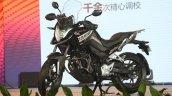 Honda CB190X black left side