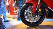 Honda CBR 600RR at Nepal Auto Show front wheel