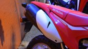 Honda CRF 250L at Nepal Auto Show exhaust