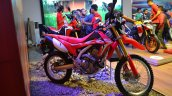 Honda CRF 250L at Nepal Auto Show front right quarter