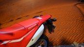 Honda CRF 250L at Nepal Auto Show seat