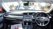 Honda Civic sedan dashboard at Nepal Auto Show 2017