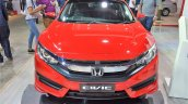 Honda Civic sedan front at Nepal Auto Show 2017