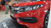 Honda Civic sedan front fascia at Nepal Auto Show 2017