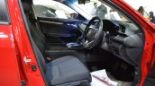 Honda Civic sedan front seats at Nepal Auto Show 2017