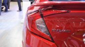Honda Civic sedan left side tail lamp at Nepal Auto Show 2017