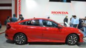Honda Civic sedan profile at Nepal Auto Show 2017