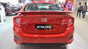 Honda Civic sedan rear at Nepal Auto Show 2017