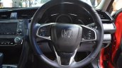 Honda Civic sedan steering wheel at Nepal Auto Show 2017