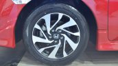 Honda Civic sedan wheel at Nepal Auto Show 2017