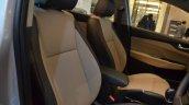 Hyundai Verna 2017 front seats