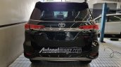 Indonesian-spec Toyota Fortuner TRD Sportivo rear