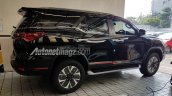 Indonesian-spec Toyota Fortuner TRD Sportivo right side
