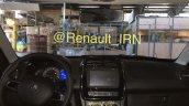 Iranian-spec Renault Kwid dashboard spy shot