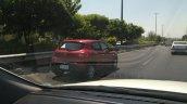 Iranian-spec Renault Kwid rear three quarters spy shot