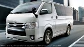 JDM-spec 2017 Toyota Hiace front three quarters