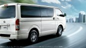 JDM-spec 2017 Toyota Hiace rear three quarters