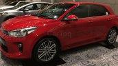Kia Rio showcased at Kia dealer roadshow front three quarters