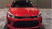 Kia Rio showcased at Kia dealer roadshow
