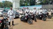 Kolkata Police Harley Davidson Street 750 bikes