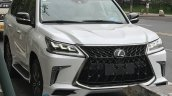 Lexus LX 570 Superior front three quarters spy shot