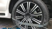 Lexus LX 570 Superior wheel spy shot