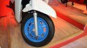 Mahindra Gusto 125 wheel at Nepal Auto Show