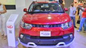 Mahindra KUV100 Explorer Edition front at Nepal Auto Show 2017