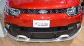 Mahindra KUV100 Explorer Edition front fascia at Nepal Auto Show 2017