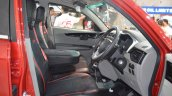 Mahindra KUV100 Explorer Edition front seats at Nepal Auto Show 2017