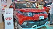 Mahindra KUV100 Explorer Edition front three quarters right side at Nepal Auto Show 2017