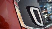 Mahindra KUV100 Explorer Edition rear door handle at Nepal Auto Show 2017