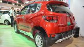 Mahindra KUV100 Explorer Edition rear three quarters at Nepal Auto Show 2017