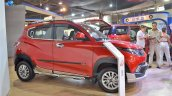 Mahindra KUV100 Explorer Edition right side at Nepal Auto Show 2017