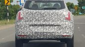 Mahindra S201 rear spy shot