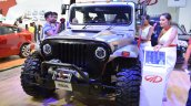 Mahindra Thar Daybreak front three quarters left side at Nepal Auto Show 2017