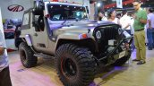 Mahindra Thar Daybreak front three quarters right side at Nepal Auto Show 2017
